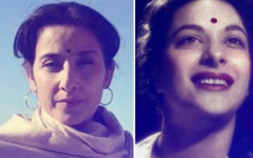 REVEALED: Manisha Koirala's Look From Ranbir Kapoor's Dutt Biopic