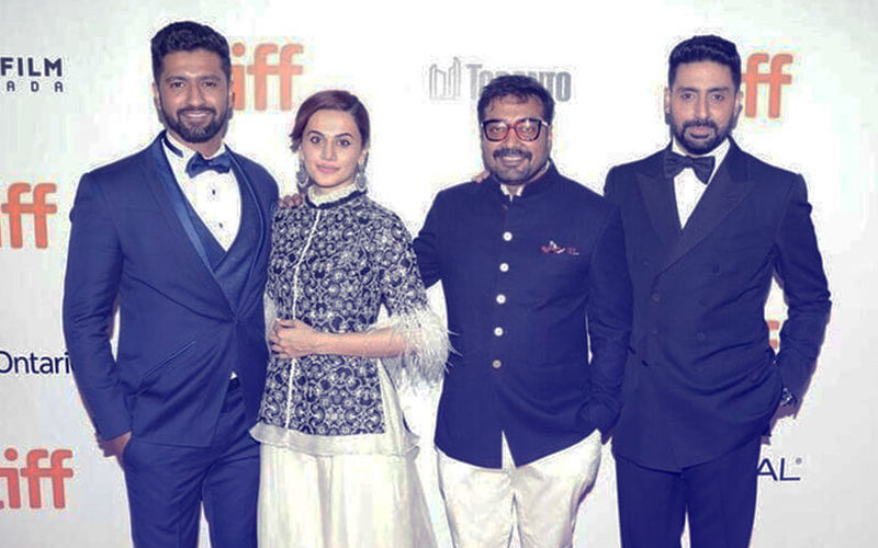 Team Manmarziyaan At The 43RD Toronto International Film Festival