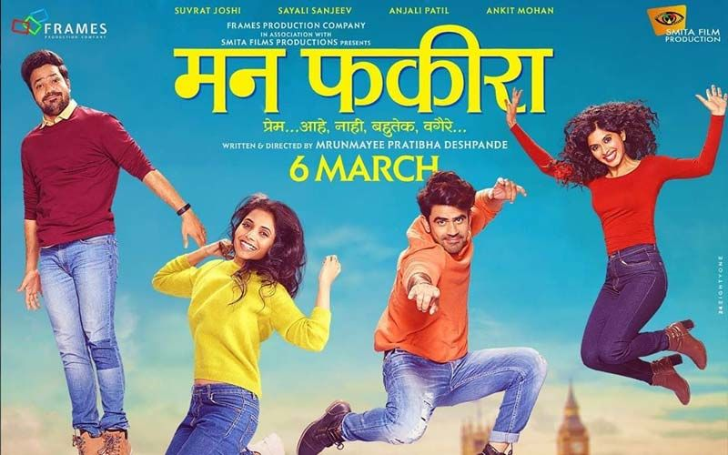 Mann Fakiraa: New Trailer Of This Romantic Marathi Film Starring Sayali Sanjeev, Suvrat Joshi, Ankit Mohan, And Anjali Patil Is Out Now