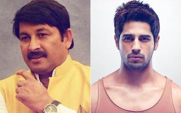 "Sidharth Malhotra In TROUBLE: ""FIRs Will Be Filed In 4 States For Insulting Bhojpuri Language,"" Says Manoj Tiwari"