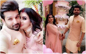 Choti Sarrdaarni Actress Mansi Sharma CONFIRMS Being 8-Months Pregnant; Shares PIC With Hubby From Baby Shower