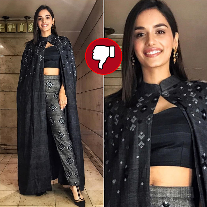 manushi chhillar fails to impress