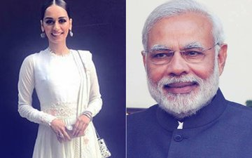 Miss World 2017 Manushi Chhillar Delighted After Meeting Prime Minister Narendra Modi
