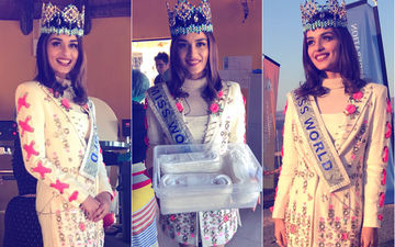 Manushi Chhillar Launches World's First Compostable Menstrual Machine