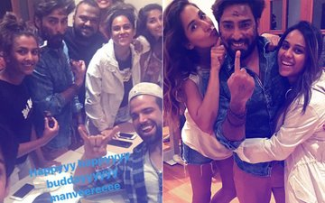 PICS: Manveer Gurjar's Birthday Celebration With Khatron Ke Khiladi 8 Contestants
