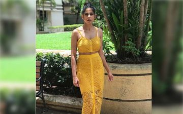 Sai Tamhankar Looks Grace Personified In This Dazzling Sharara Suit