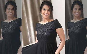 Colors Style Icon 2020: Sharmishtha Raut Dressed In A Glamorous Black Gown For The Star-Studded Night
