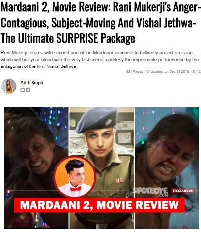 mardaani review