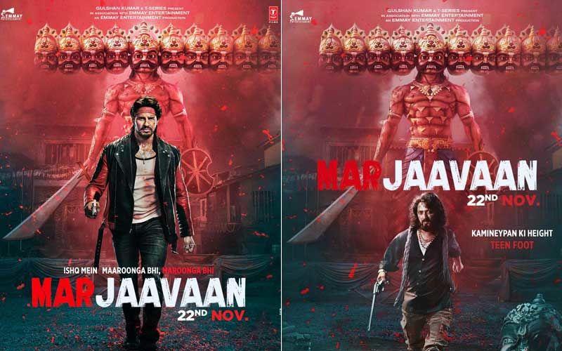 Marjaavaan Poster Celeb Reactions: Arjun Kapoor, Nushrat Barucha Are Highly Impressed With Sidharth Malhotra And Riteish Deshmukh