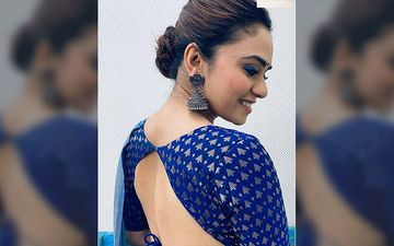 Amruta Khanvilkar Redefines Grace In The Whole Six Yards For Her New Photoshoot