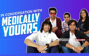 Medically Yourrs Cast Shantanu Maheshwari, Nityaami Shirke, Manas Adhiya, Kewal Dasani On The Slapping Incident, Web Shows And Much More