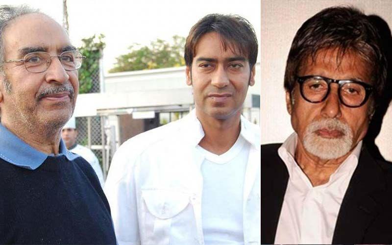 Megastar Amitabh Bachchan Pens A Heartfelt Note For Ajay Devgn's Father, Veeru Devgan