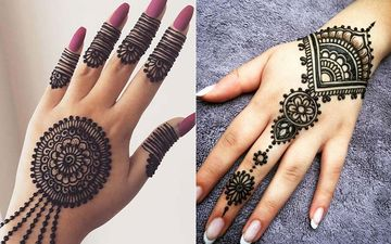 Eid-Ul-Fitr 2020: 10 Gorgeous DIY Mehendi Designs That Can Be Done Is Less Than 20 Mins During Lockdown