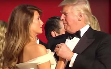 Donald Trump Snubbed, Wife Melania Trump Avoids His Puckered Lips By Turning Her Cheek- AWKWARD