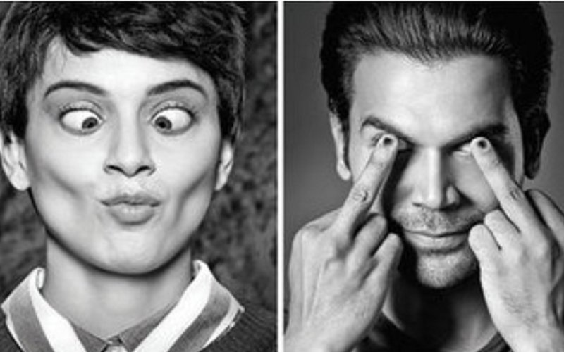 "Mental Hai Kya: Kangana Ranaut & Rajkummar Rao Scream, ""Crazy Is The New Normal"""