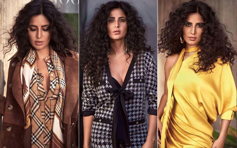 Messy And Sassy, Katrina Kaif Ups Her Desirability Quotient With This Latest Vogue Photoshoot