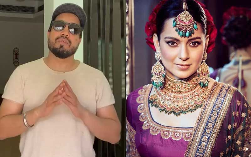 Mika Singh Requests Fans To Not Focus On Kangana Ranaut; Tells Her, 'You Get Away By Targeting Soft People Like Karan Johar, Ranveer Singh, Hrithik Roshan Don't Come In Our Way'