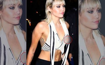 Braless Miley Cyrus Teases With A Nip Slip Pic, Asks Fans To Check Out The Post Before Instagram Deletes It