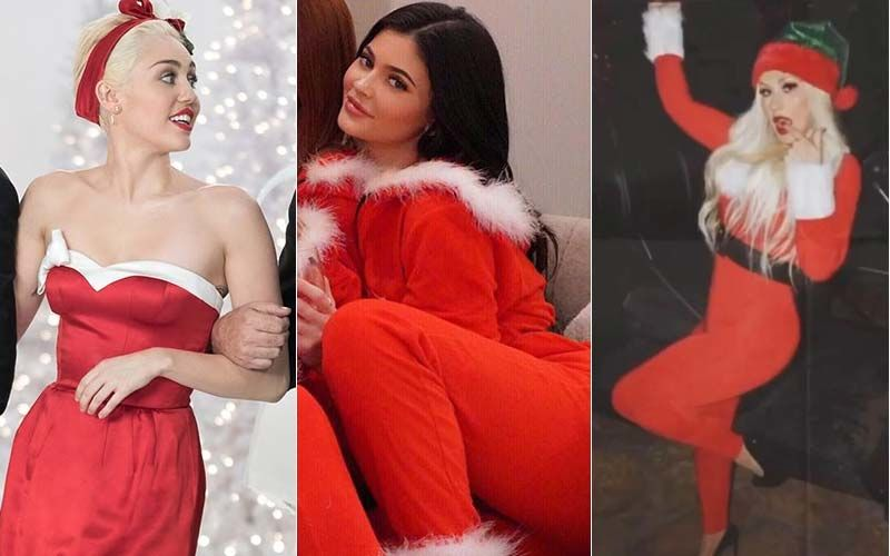 HOLLYWOOD'S HOT METER: Kylie Jenner, Miley Cyrus Or Christina Aguilera- Divas Who Sleigh-ed In Sexy Santa Outfits
