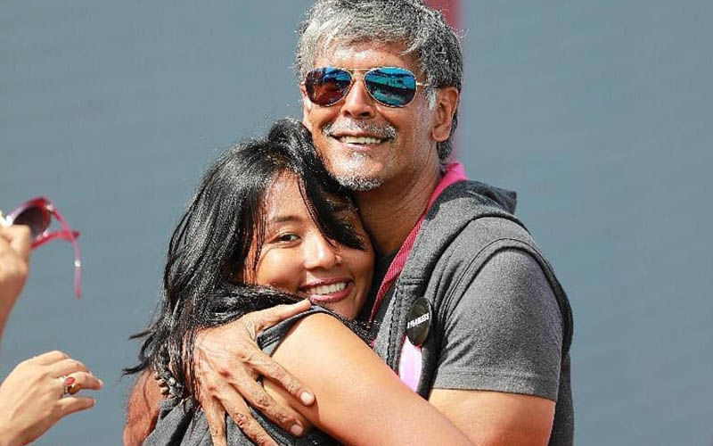 Milind Soman And Ankita Konwar Almost Kissing In Their Juliet Balcony In Iceland Is Too Cute For Words