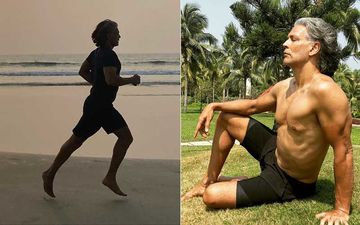 Milind Soman Poses In Birthday Suit On His 55th Birthday; Runs ABSOLUTELY NUDE On A Beach In Goa Looking Oh-So-Hot– PIC INSIDE