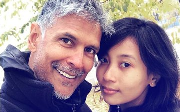 PICS: Milind Soman Celebrates 52ND Birthday With Girlfriend Ankita In Norway