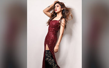 Mimi Chakraborty Leaves Fans Gasping In A Thigh High Slit Dress, Shares Pic On Instagram