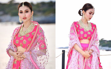 Mimi Chakraborty's Stunning Pink Lehanga is Unlike Any Other You've Seen; Check Pics Here