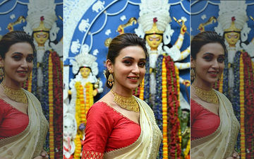 From Mimi Chakraborty To Koushani: Celebs Instagram Pictures Of Durga Puja Celebrations