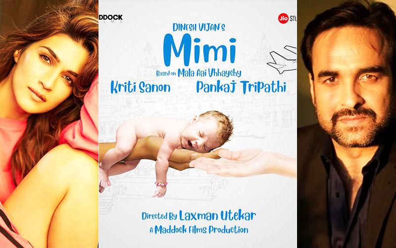 Mimi First Look: Kriti Sanon and Pankaj Tripathi Star In Dinesh Vijan's Next