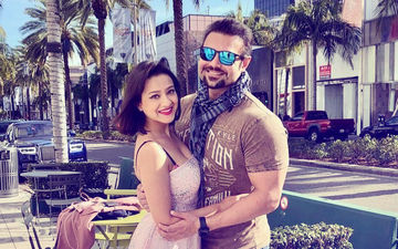 Pic: Mahaakshay Chakraborty & Madalsa Sharma Enjoy Honeymoon In California