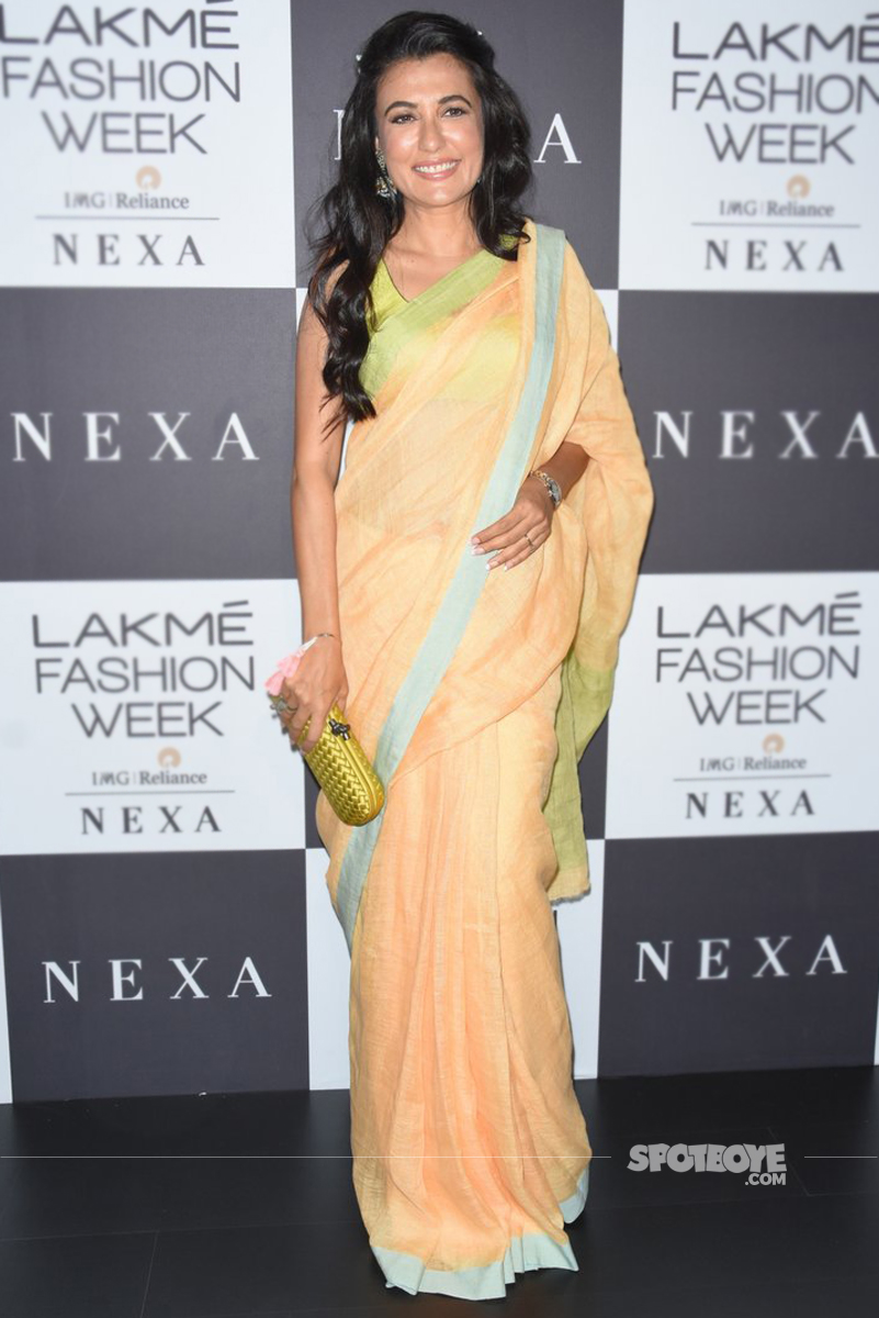 mini mathur at the lakme fashion week 2017