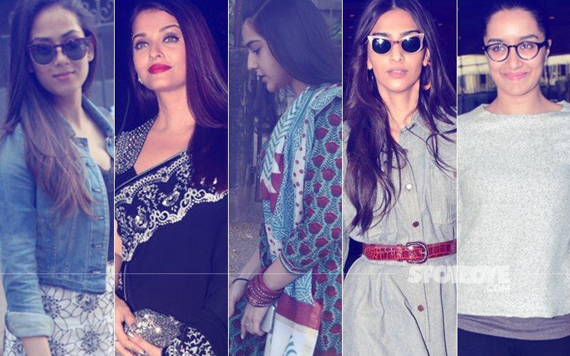 STUNNER OR BUMMER: Mira Rajput, Aishwarya Rai Bachchan, Sara Ali Khan, Sonam Kapoor Or Shraddha Kapoor?