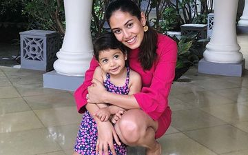 Coronavirus Lockdown: After BMC Seals Their Gym, Shahid Kapoor's Wife Mira Rajput Becomes A Teacher For Misha