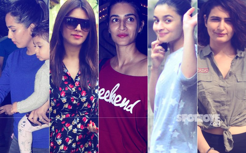 STUNNER OR BUMMER: Mira Rajput, Hansika Motwani, Kriti Sanon, Alia Bhatt Or Fatima Sana Shaikh?