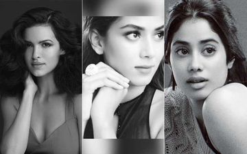 Monochrome Photo Challenge: Mira Rajput, Janhvi Kapoor, Natasa Stankovic And Others Support Each Other To Spread Positivity