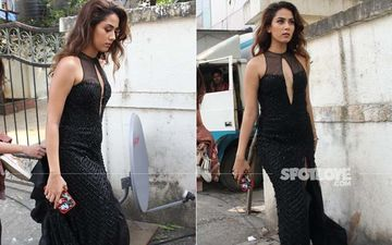 Mira Rajput Faces Cams In A Sexy Black Dress; Netizens Question What The Shoot Is About And 'How Is She Famous?'
