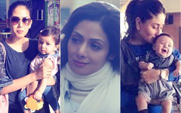 Sridevi Is A Fierce Mom, Here Are  B-Town's Other Powerful Mothers, From Mira Rajput To Kareena Kapoor