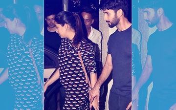 Mira Rajput Looks Adorable As She Flaunts Her Baby Bump In A Cute Dress