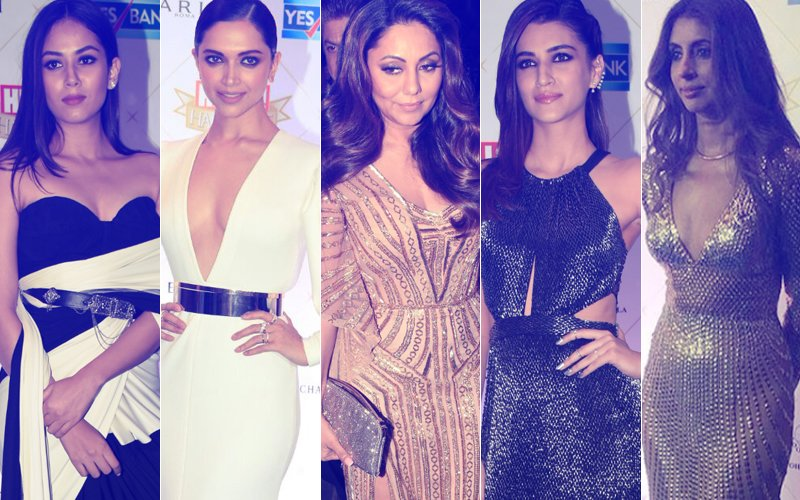 BEST DRESSED & WORST DRESSED At Hello! Hall Of Fame Awards 2018: Mira Rajput, Deepika Padukone, Gauri Khan, Kriti Sanon Or Shweta Bachchan Nanda?