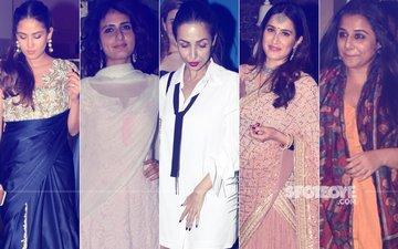 STUNNER OR BUMMER: Mira Rajput, Fatima Sana Shaikh, Malaika Arora, Sagarika Ghatge Or Vidya Balan?