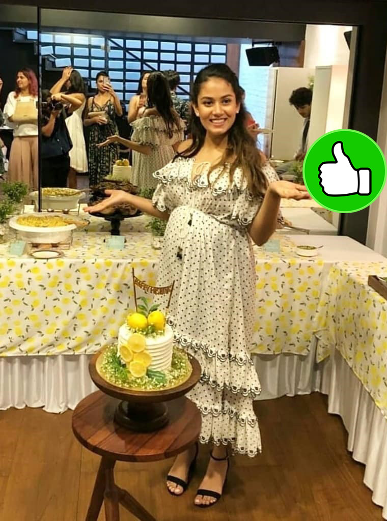 mira rajput is all smiles