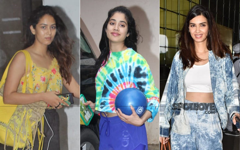 Mira Rajput, Janhvi Kapoor And Diana Penty Are Ruining The Saturday Fashion Vibes!