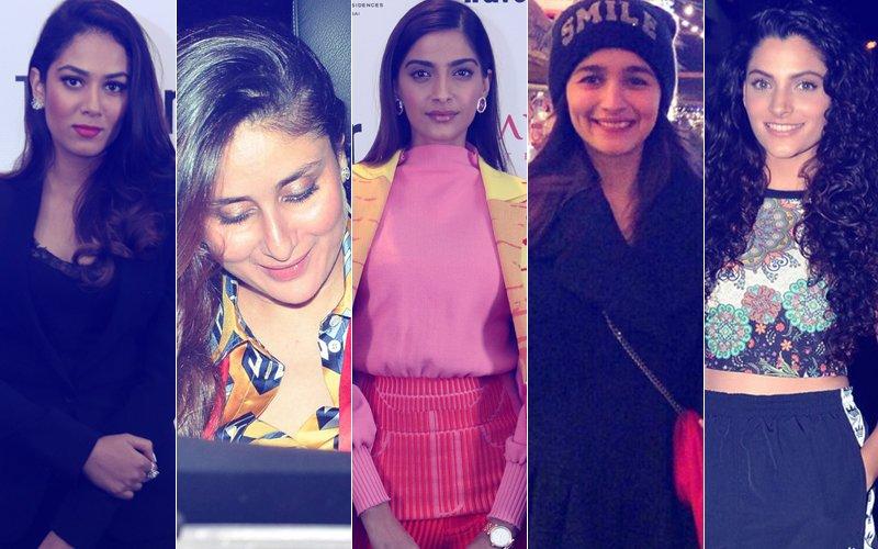 STUNNER OR BUMMER: Mira Rajput, Kareena Kapoor, Sonam Kapoor, Alia Bhatt Or Saiyami Kher?