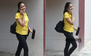 Mira Rajput Looks Effortlessly Chic As She Steps Out Of The Gym