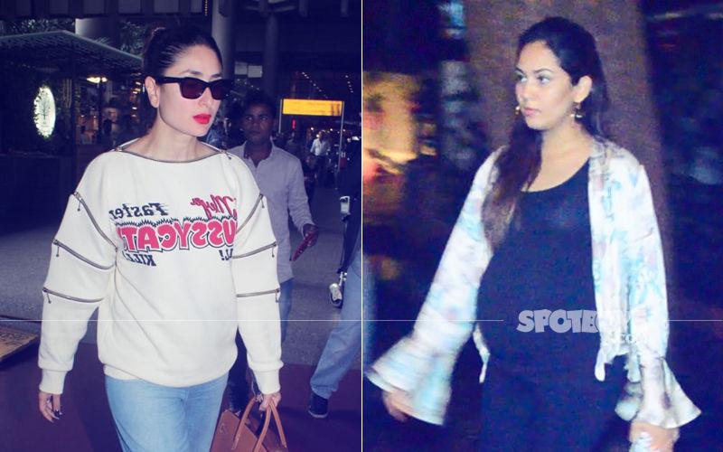 Mira Rajput Quenches Pregnancy Craving; Kareena Kapoor Returns After Dubai Holiday