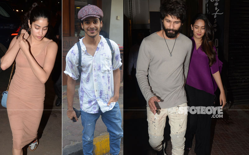 Mira Rajput-Shahid Kapoor Celebrate Ishaan Khatter's Happy 23. Janhvi Kapoor Joins The Celebration