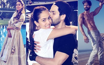 Mira Rajput CANNOT Stay Away From Shahid Kapoor. Here's Proof...