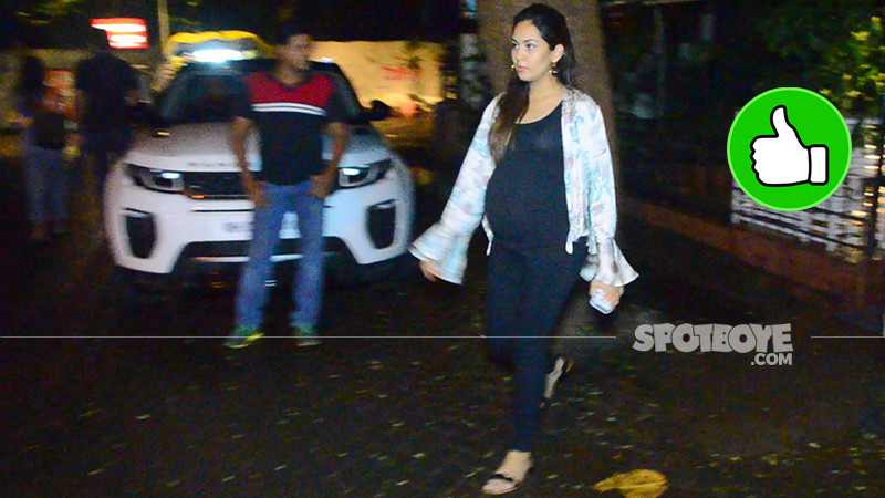 mira rajput snapped post dinner