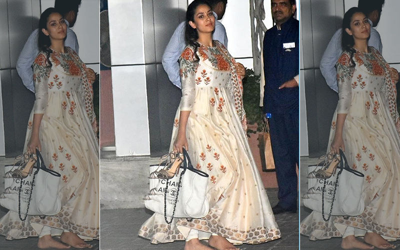 Mira Rajput Walking Barefoot With Heels In Hand Sparks A Debate On Instagram